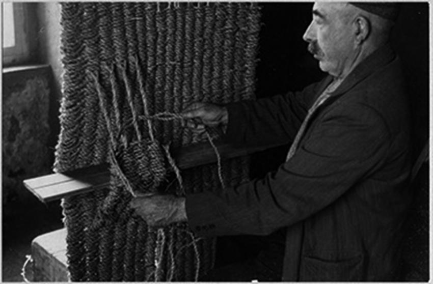 Weaving Marram