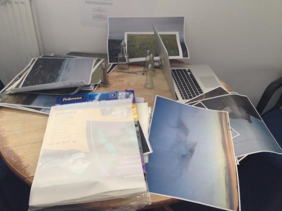 Laminating and printing ....
