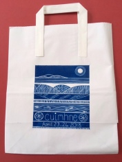 Gill Thompsons design for our Cuimhne delegate bags